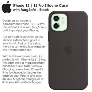 Apple iPhone 12|12 Pro Silicone Case with MagSafe